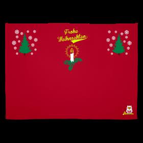 Plaid douillé, spécial Noël, en vente sur Zappandoo.