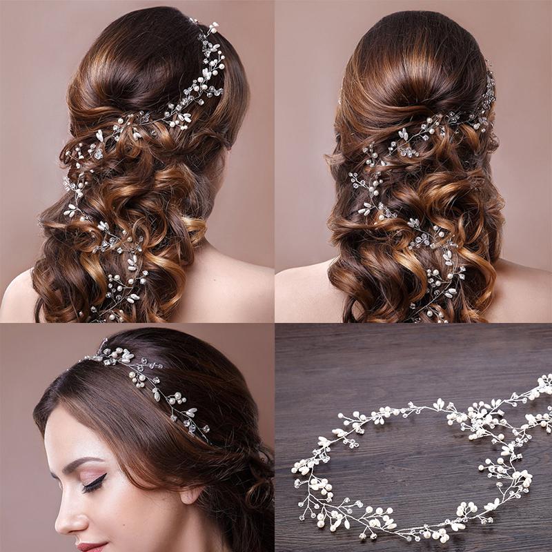 Bijoux de tête, gants, voiles, bijoux, pour mariée, en vente sur Zappandoo.