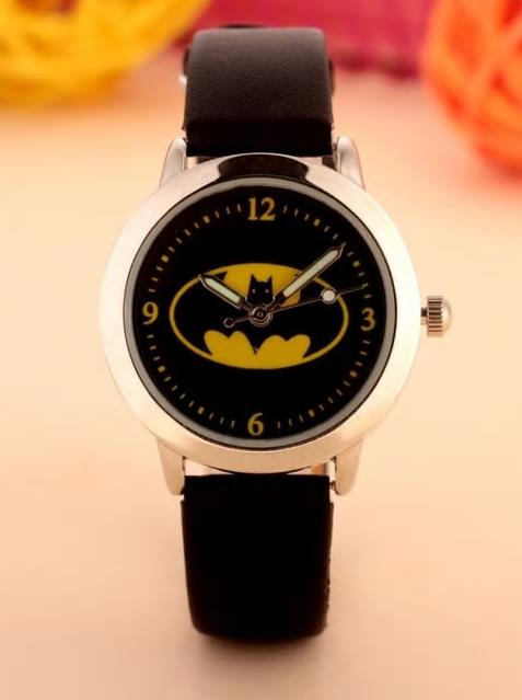 Montres tendance pour enfants avec Batman, unisexe et en vente sur Zappandoo.