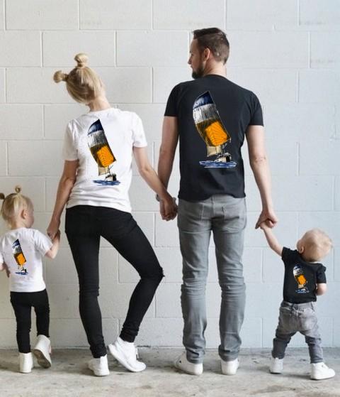 Textile tendance avec des motifs uniques pour toute la famille.