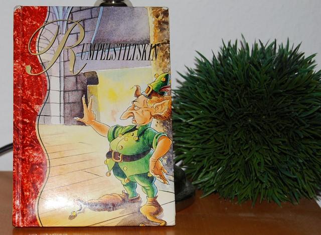 Rumpelstiltskin, un conte en allemand, pour enfants et en vente chez Zappandoo.