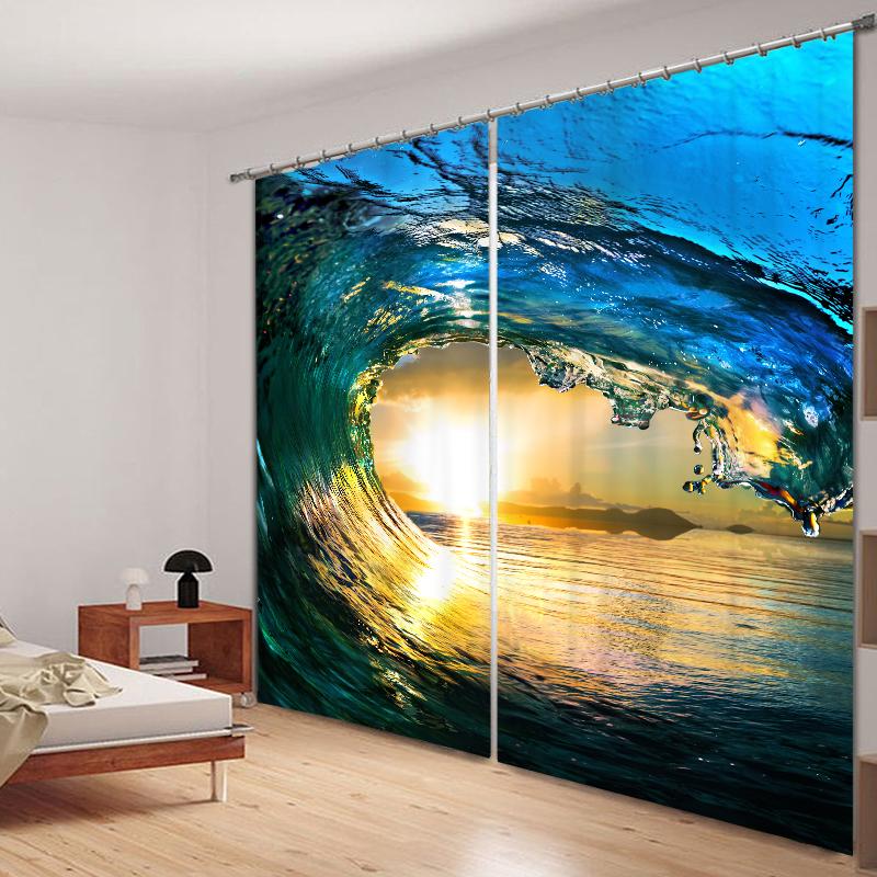 Agrandissez visuellement votre espace avec des rideaux décoratifs de luxe.