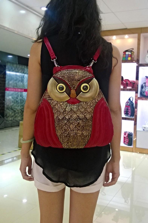 """sac-à-main, sac-à-dos, sac-à-bandoulière, vous avez le choix d'un magnifique sac pour femme, chic et ultra tendance. De la collection """" La Chouette"""" , en vente sur Zappandoo."""