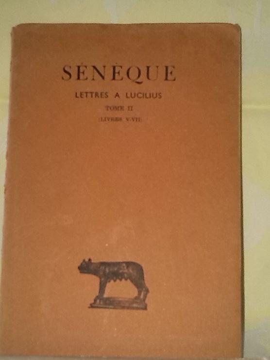 SENEQUE Lettres à Lucilius, en vente chez Zappandoo.