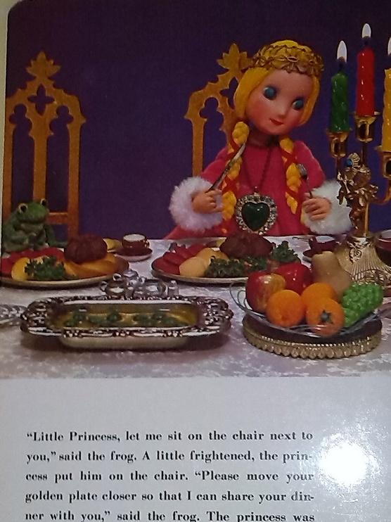 The Frog Prince, une histoire pour enfants, en anglais et en vente chez Zappandoo. Livre ancien et rare.