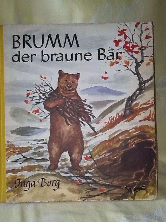 BRUMM - der braune BAR . Un conte ancien en Allemand, en vente sur Zappandoo.