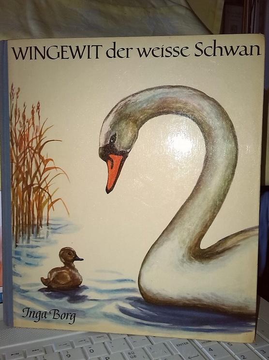 WINGEWIT, Der Weisse Schwan. Un conte pour enfants en Allemand, en vente sur Zappandoo.