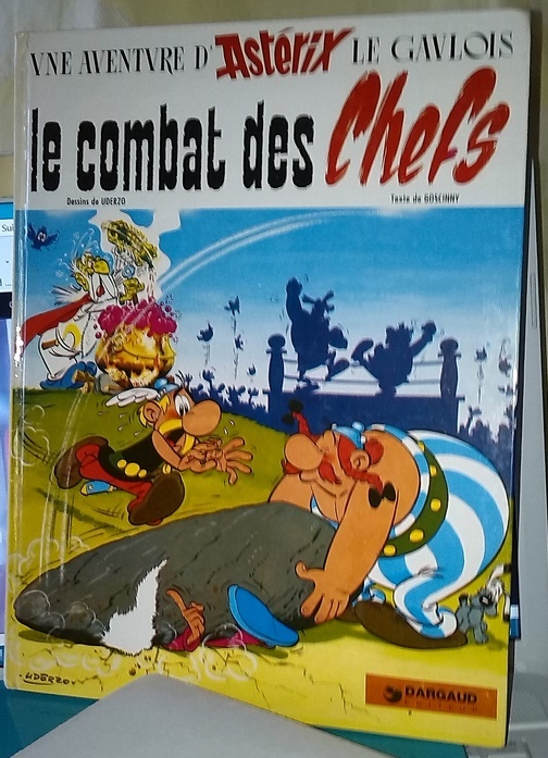 Le combat des chefs, BD ancienne, en vente groupée sur zappandoo.comunidades.net