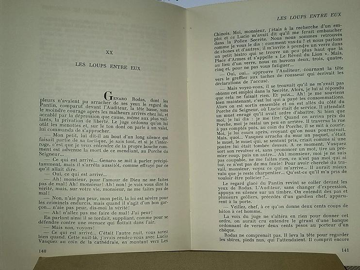 Monsieur le président, un roman Guatémaltèque de 1967, chez Zappandoo.