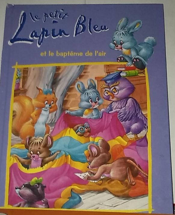 Le Petit Lapin Bleu et le ........ Un conte Original pour enfants en vente online sur Zappandoo.comunidades.net