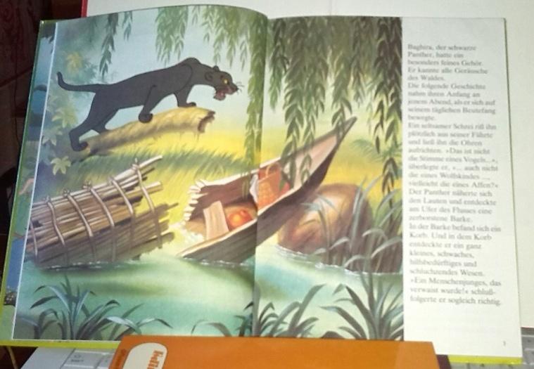 Das Dschungelbuch. Un conte ancien pour enfants en Allemand, en vente chez Zappandoo.