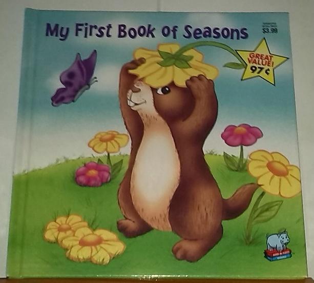 My firts book of saisons, chez zappandoo, pour enfants.