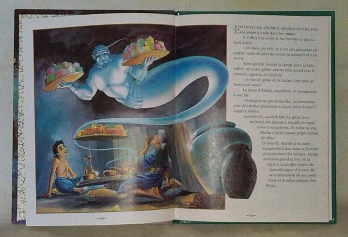 Aladin et la lampe Magique, un conte pour enfants en vente chez : zappandoo.