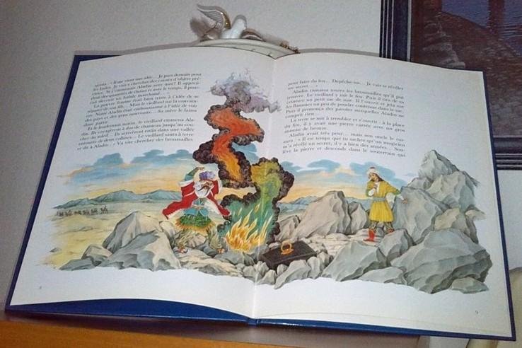 Aladin et la lampe merveilleuse.