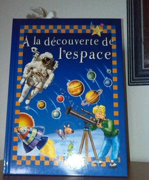 À la découverte de l'espace, pour enfants, en vente sur Zappandoo.