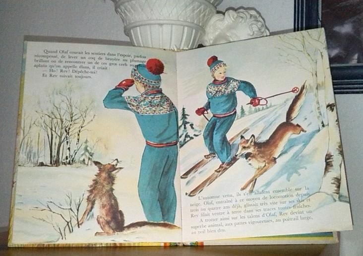 Chez zappandoo.comunidades.net, Olaf et le petit renard, un livre rare et ancien, une histoire captivante pour les enfants.