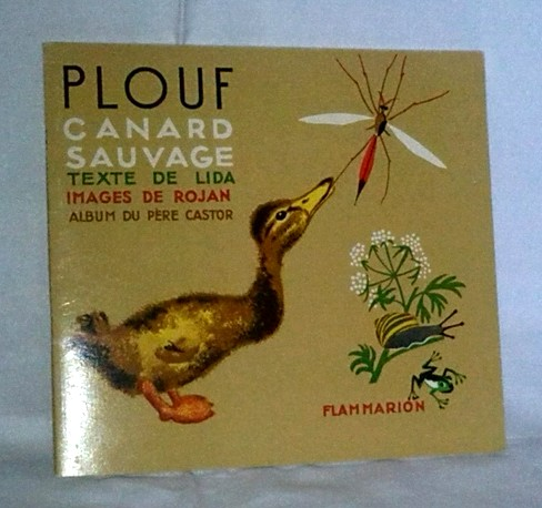 Plouf, le canard sauvage, un conte ancien pour enfants, en vente sur Zappandoo
