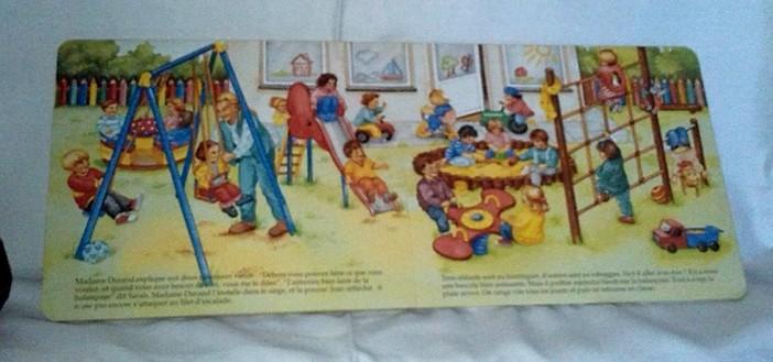 À l'école maternelle, un conte pour enfants en vente chez : Zappandoo.