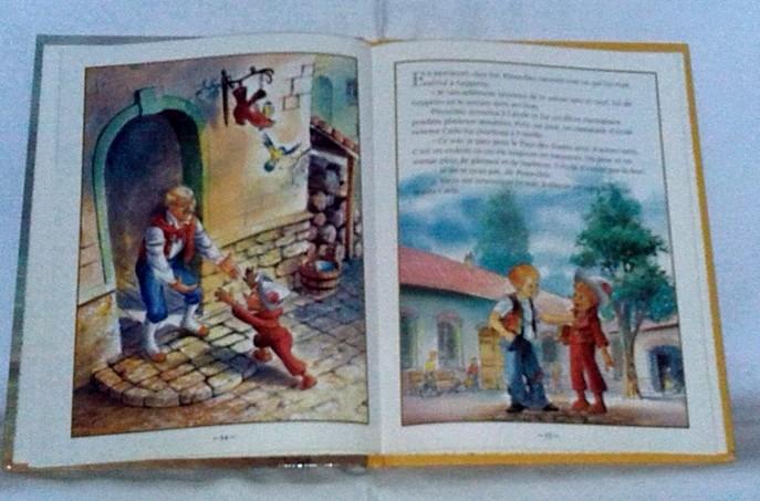Pinocchio, un conte pour enfants, un intemporel.