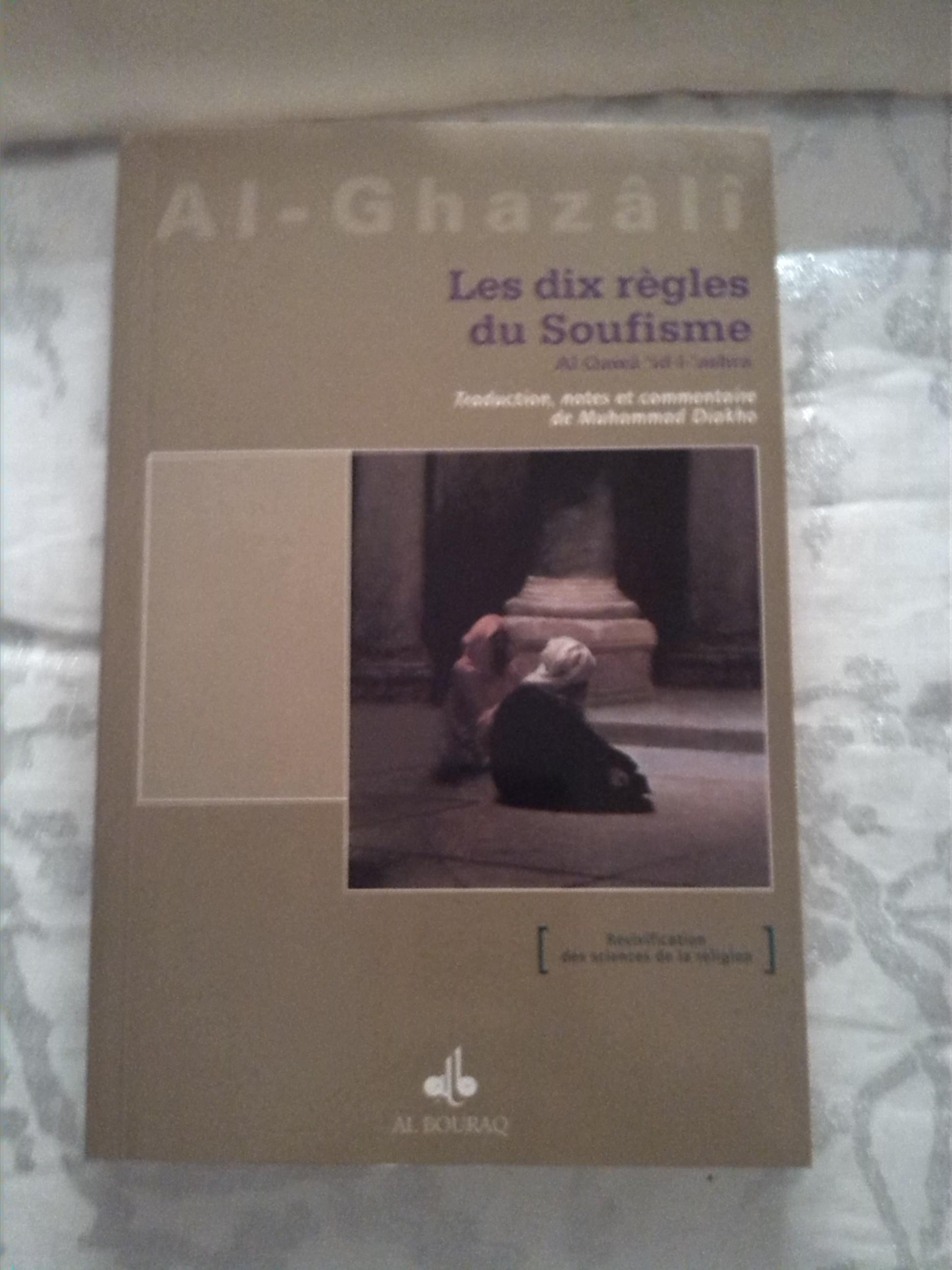 Les dix règles du soufisme, lecture pour adultes en vente chez Zappandoo.