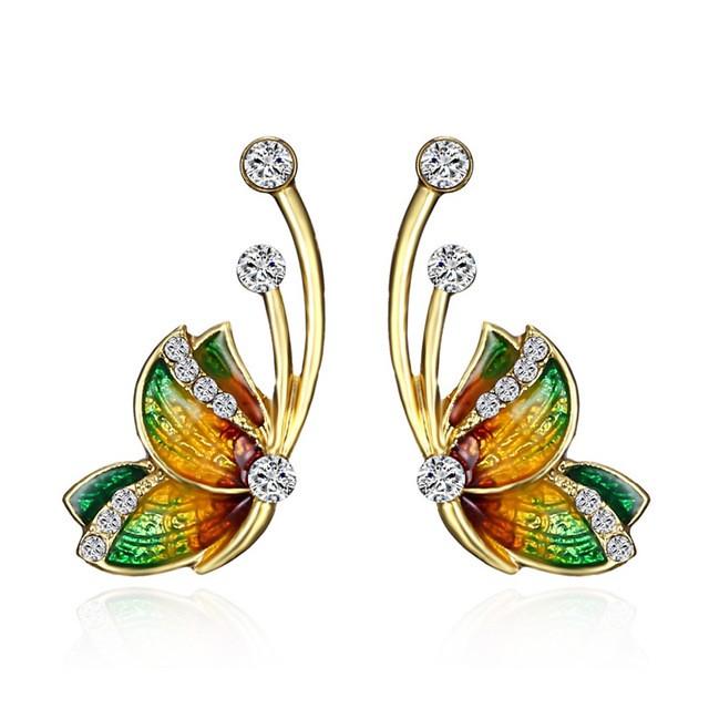 De la collection tournesol, boucles d'oreille  tendance  pour femme, en vente sur Zappandoo.
