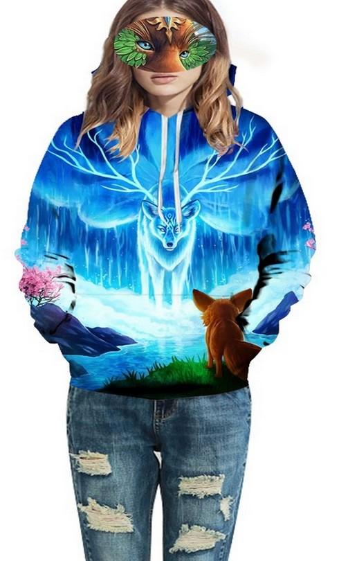 sweaters tendance avec imprimés en 3D, pour femme, en vente chez zappandoo.
