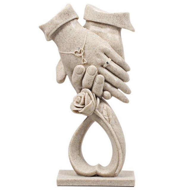 Se tenir  la main, Cadeaux de mariage uniques et inoubliables, en vente sur Zappandoo.