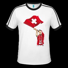 fêter en famille le 1°Août en Suisse avec du textile tendance en ligne sur Zappandoo.