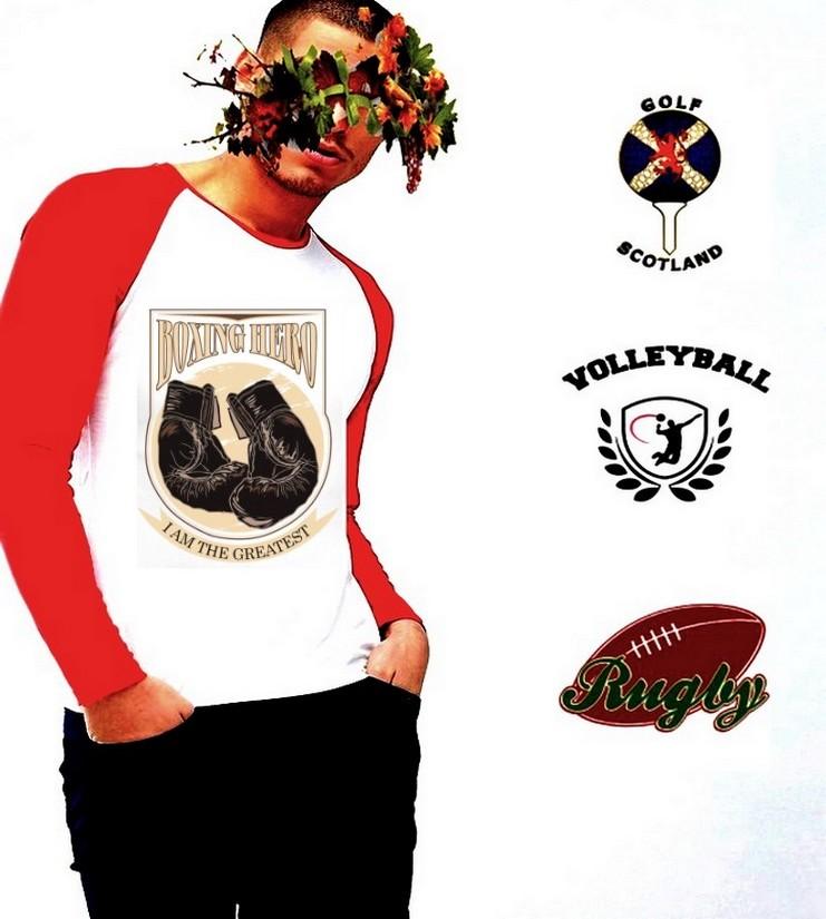 Online sur Zappandoo, le t.shirt Basketball manches longues, pour homme.