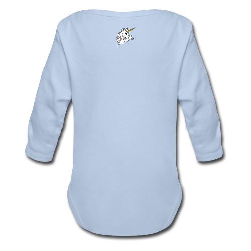 Body manches longues à 100% coton, pour bébé. Motifs imprimés uniques et originaux, de la collection *la licorne*, en vente chez Zappandoo.comunidades.net