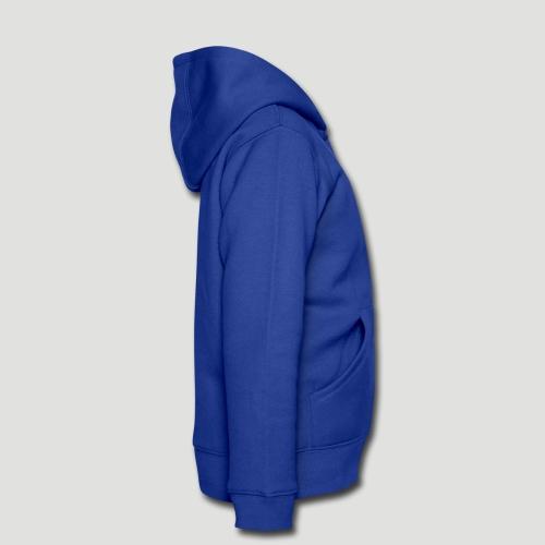 veste zippée, à capuche et poches, imprimés tendance, pour enfants.