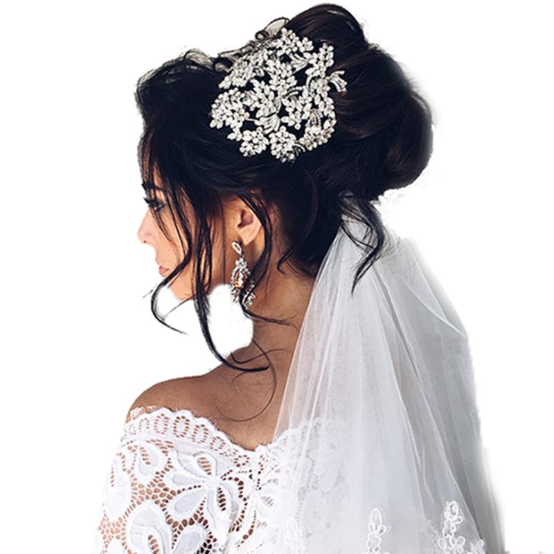 Bijoux de tête et tiaras pour mariée, en vente sur Zappandoo.