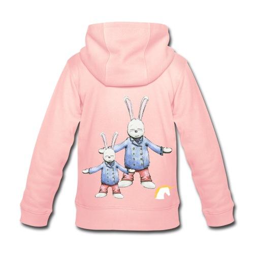 Veste tendance, zippée, à capuche et avec des poches sur le devant, pour enfants, filles et garçons. En vente sur Zappandoo.comunidades.net